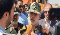 وزير الدفاع الإيراني: سنسعى لإعادة منكوبي السيول إلى الحياة الطبيعية بأسرع وقت