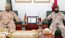 قائد القوات الجوية القطرية وآمر سلاح الجو الكويتي بحثا بتعزيز العلاقات العسكرية