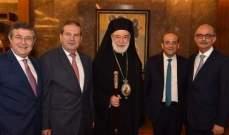 نجم: المطران عودة حريص على شؤون الطائفة الأرثوذكسية وشجونها