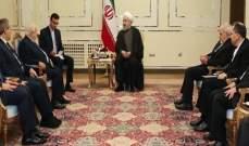 روحاني خلال لقائه المعلم: الاستقرار التام في سوريا من أهم أهداف إيران الإقليمية