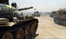 رمايات مدفعية وصاروخية من قبل جيش سوريا ضد المسلحين في ريف حلب الجنوبي
