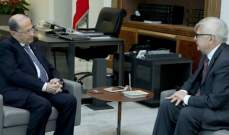 مصادر الشرق الأوسط: عون سيبحث مع بوتين بعودة النازحين السوريين والتعاون بمجال الطاقة