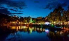 افتتاح الموسم الميلادي الحادي عشر على ضفاف بحيرة بنشعي