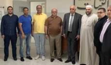 """نقيب محرري الصحافة اللبنانية زار مكاتب """"الثبات"""""""