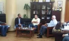 قمرالدين عرض وهيئات أممية مشاريع تنموية والتقى وحدة الارشاد والتوجيه الصحي في طرابلس