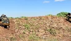 سانا: الجيش السوري قضى على مجموعات مسلحة متسللة في ريف حماة الشمالي