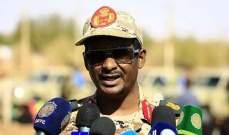 قائد قوات الدعم المركزي السودانية: ملتزمون بالدفاع عن السعودية ودول الخليج