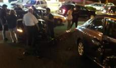 جريحان بحادث سير على طريق عام بلونة كسروان