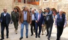 محافظ جبل لبنان جال ورئيس بلدية الشويفات متفقداً الأشغال والمشاريع في المدينة