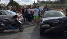 النشرة: حادث سير في بلدة الدوير والأضرار مادية