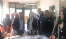باسيل تفقد سير العملية الانتخابية الداخلية بالوطني الحر في زحلة