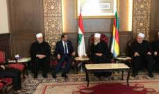 الشامسي شدد على دعم الإمارات لكل ما فيه خير للبنانيين وإستقرار لبنان