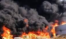إخماد حريق داخل معمل للإسفنج في المرج وآخر شب بأعشاب وهشيم في بيت الدين