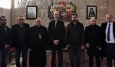 المطران درويش استقبل سفير مملكة السويد في لبنان