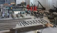 العثور على صواريخ أميركية وأسلحة بعضها إسرائيلي الصنع من مخلفات المسلحين بريف القنيطرة