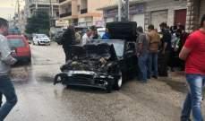 النشرة: جريحان إثر حادث سير في الكرك - زحلة