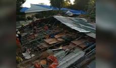 5 قتلى و55 جريحا بانهيار استراحة للعمال وسط الفلبين
