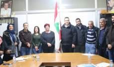 اختتام دورة تدريبية لمصابي الالغام والقنابل العنقودية للجمعية اللبنانية للرعاية الصحية