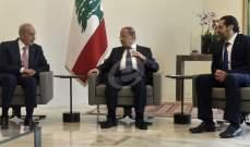 اتفاق رئاسي ثلاثي على إنجاز حكومة من 32 وزيراً قبل عيد الفطر