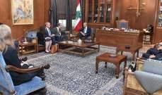 بري: لبنان لا يريد الحرب لكنه لن يتنازل عن سيادته وحقوقه بالبر والبحر