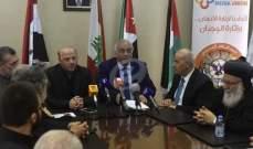 """الرياشي اعلن عن تأسيس اتحاد """"الاعلام المسيحي في الشرق الاوسط"""""""