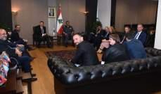 اللواء عثمان استقبل عضو مجلس الشيوخ للشؤون الداخلية والرياضة في برلين