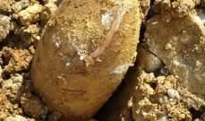 النشرة: سحب رأس الصاروخ الذي عثر عليه على طريق ترشيش زحلة وتبين انه قديم العهد