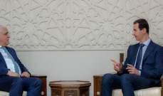 الأسد: مصير المنطقة لا يقرره سوى شعوبها مهما عظمت التحديات