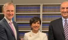 النشرة: رئيسة بعثة لبنان بالأمم المتحدة سلمت وثيقة إنضام لبنان لمعاهدة تجارة الأسلحة