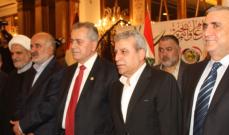 قيادة حزب البعث تقيم حفل استقبال في الذكرى الـ 72 لميلاد الحزب