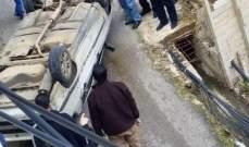 جريح في حادث سير على طريق الضنية طرابلس