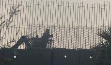 النشرة: ورشة اسرائيلية تنفذ اعمال صيانة للطريق العسكري مقابل كفركلا