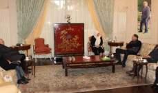 الحريري التقت ضو والسعودي وشمس الدين بحضور حمود