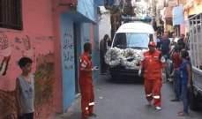 النشرة:أهالي بلدة طيطبا وأبناء مخيم عين الحلوة شيعوا الفلسطيني هيثم السعدي