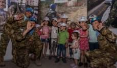 جنود اليونيفيل يشاركون بنشاطات الكورنيش الجنوبي لصور
