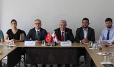 محمد سعدية زار إتحاد بلديات العالم التركي وناقش موضوع توأمة البلديات