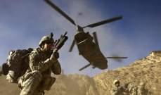 سلاح الجو الأميركي نفّذ 465 غارة في أفغانستان خلال شهر أيلول