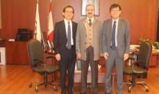 أيوب: لتعزيز التعاون الأكاديمي بين بيروت وسيؤول