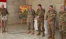 قائد الجيش ترأس حفل تسليم وتسلم عضوية المجلس العسكري بين شريم والشامية