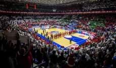 لبنان يتقدم بفارق 11 نقطة امام كوريا الجنوبية بعد نهاية الربع الاول