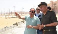 السيسي يتفقد أكبر دار أوبرا في الشرق الأوسط بمصر