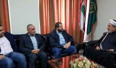 وفد من حزب الله يجول على الفعاليات العلمائية في صيدا مهنئا بذكرى المولد النبوي الشريف
