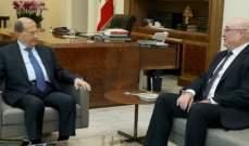 الرئيس عون استقبل جوزيف أبو فاضل وأكد أهمية تطبيق الدستور والقوانين