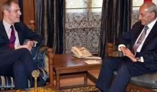 بري التقى مسؤول في الخارجية الفرنسية وعرض معه التطورات