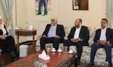 بهية الحريري: تحصين أمن المخيمات والجوار مسؤولية فلسطينية لبنانية