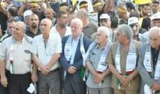 الأحمد:عباس حمل قلم عرفات ليقول لا سلام بالشرق الأوسط بدون الحقوق الفلسطينية