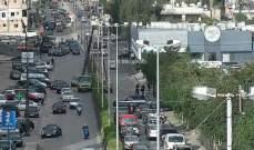 قطع الطريق الممتد من ساحة الدكوانة باتجاه سد البوشرية-الجديدة وتحويله إلى طرقات فرعية
