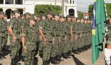انتشار مكثف للجيش البرازيلي في ريو دي جانيرو لحفظ الأمن