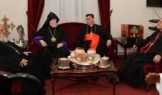 اجتماع للبطاركة في بكركي للبحث بالمواضيع التي ستناقش مع البابا في ايطاليا