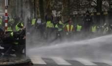 الشرطة الفرنسية: اعتقال 140 شخصا وإصابة 65 آخرين بالاحتجاجات